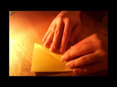 Origami Kranich (einfach)