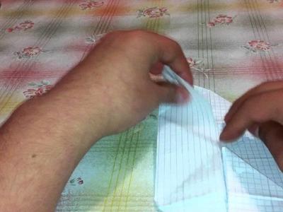 Origami Schweinchen falten - Schwein aus Papier falten