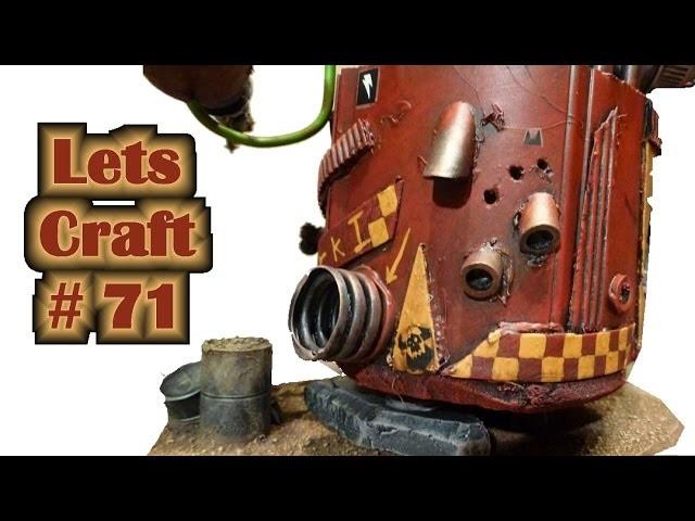 Wie bastel ich einen schweren Ork Kampfläufer selbst? - Lets craft # 71 Bastel Tutorial Teil 2
