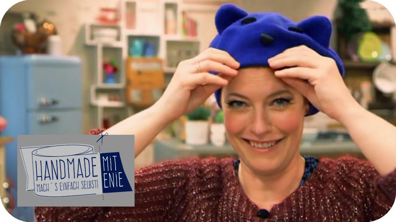Baskenmütze mit Ohren | Handmade mit Enie - Mach's einfach selbst | sixx