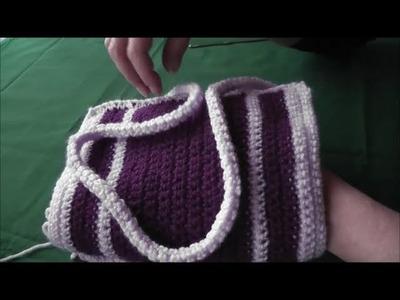 Crochet Häkeln einer Kordel; szydelkowanie, sznurek robiony szydelkiem z polskim tlumaczeniem.