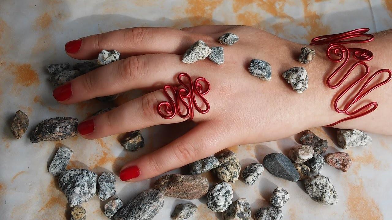 DIY Armband und Ring aus Draht