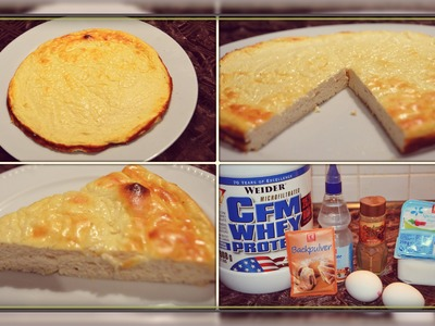 DIY : ♥ LOW CARB KÄSEKUCHEN ♥. BACK - TUTORIAL. EASY