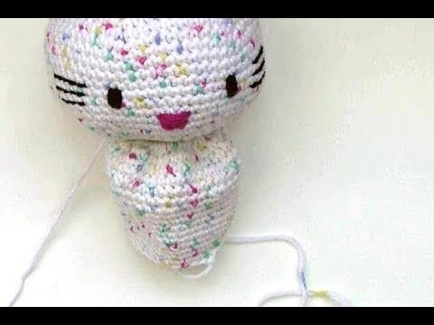 Häkeln Hello Kitty Engel Mit Herz Teil 2 Körper Amigurumi