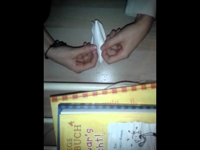 """How to make a ,,Origami Tulpe"""""""