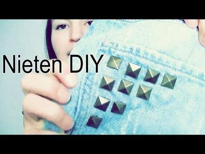 "Nieten DIY ""Kleidung aufpimpen"" - Tutorial - DIY | Lena's Lifestyle"