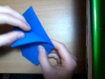 Origami Becher Faltanleitung (Figur 1)