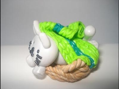 Polymer Clay. Fimo Katze im Korb Tutorial Teil 2