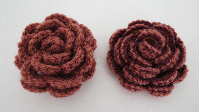 Rose häkeln * Anleitung * Crochet Rose [eng sub]