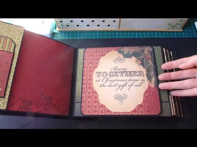 Scrapbook Mini Album * Christmas * Kaisercraft