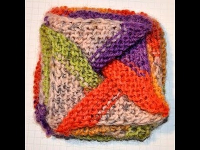 Stricken * Sommer Mystery Teil 2 * Windrad Beutel nach Frankie Brown * Pinwheel Purse Reloaded