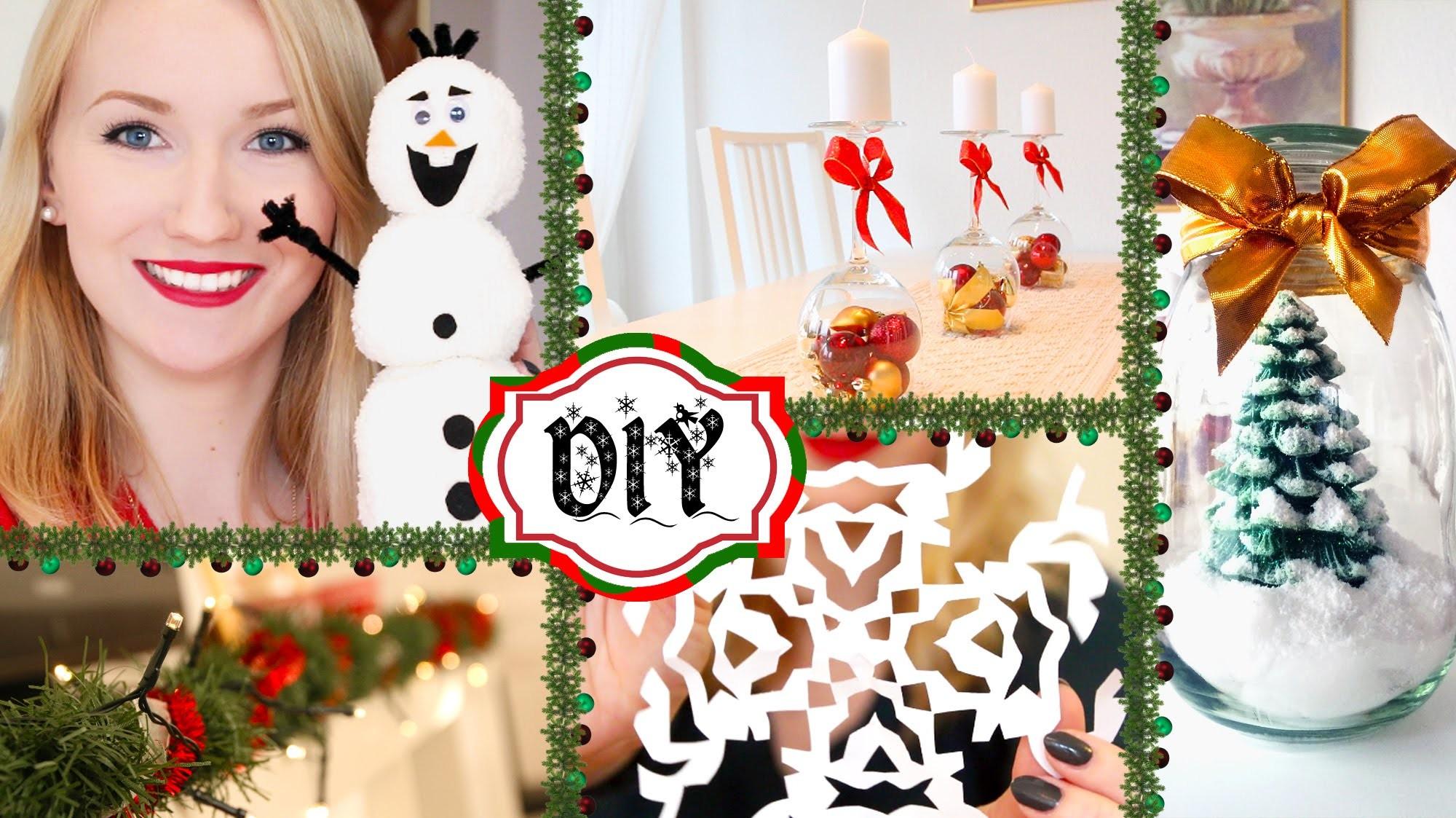 6 diy deko ideen f r weihnachten einfach g nstig. Black Bedroom Furniture Sets. Home Design Ideas