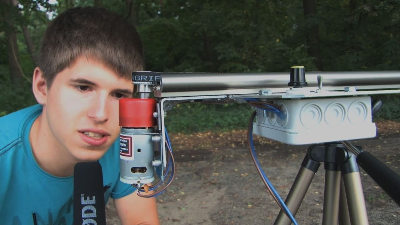 Camera-Slider mit Motor - Do It Yourself. Eigenbau (IGUS) - [Aufbau + Test]