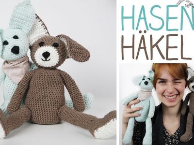 DIY Kuscheltier selbermachen - Hase häkeln für Anfänger - super Geschenk zu Ostern - alive4fashion