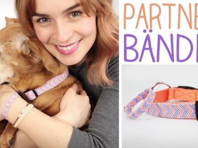 DIY Partnerlook Halsband & Armband für dich und dein Haustier -  Hund, Katze - alive4fashion