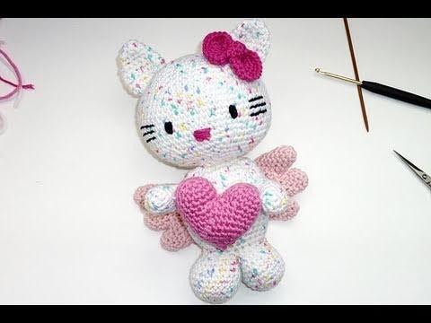 Häkeln * Hello Kitty Engel * Teil 6 * Ausarbeiten, Zusammennähen * Amigurumi