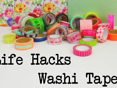 Life Hacks Top 5: Washi Tape Life Hacks. Tipps und Tricks mit Washi Tape Anleitung | deutsch