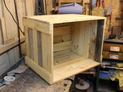 Couchtisch selber bauen. Palettenholz-couchtisch