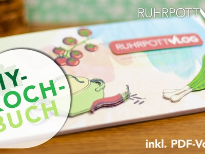 DIY: Kochbuch selber machen (inkl. gratis Vorlagen-Download) - DIY-Sunday