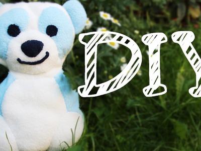 |DIY| Kuscheltier selber nähen - perfekt für Babys - mit oder ohne Nähmaschine