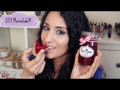 DIY LECKERE Marmelade in wenigen MINUTEN für den MUTTERTAG!!