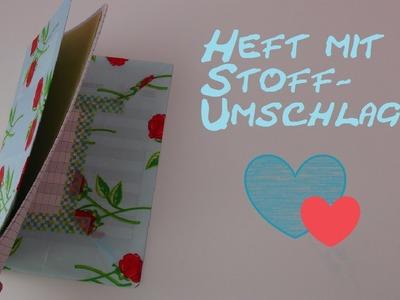 DIY Organizer. Notizbuch. Tagebuch. Adressbuch mit Stoff verschönern und gestalten. Back to School