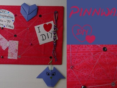 DIY Pinnwand selber machen. als Geschenk, als Deko oder zur Organisation