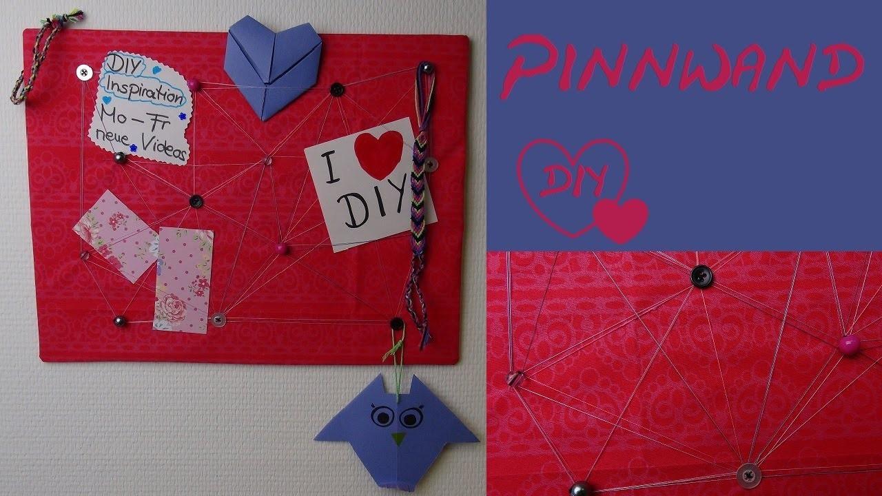 diy pinnwand selber machen als geschenk als deko oder. Black Bedroom Furniture Sets. Home Design Ideas