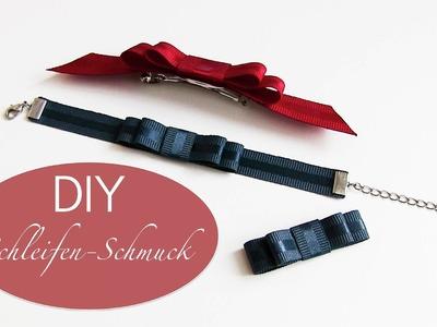 DIY Schleifen - Schmuck