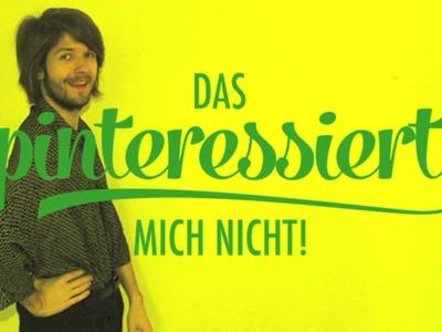 "DIY: Tafel selbst basteln! | ""Das pinteressiert mich nicht!"""