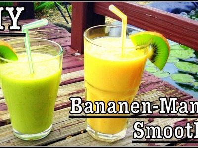 Enjoy Summer - Bananen-Mango Smoothie (2 Varianten)