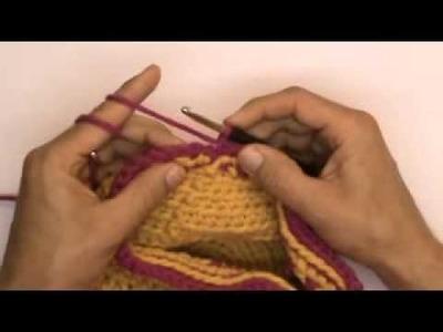 Häkeln Lernen Basics - Letzte Runde einer Mütze sauber schließen - Mützenmacker