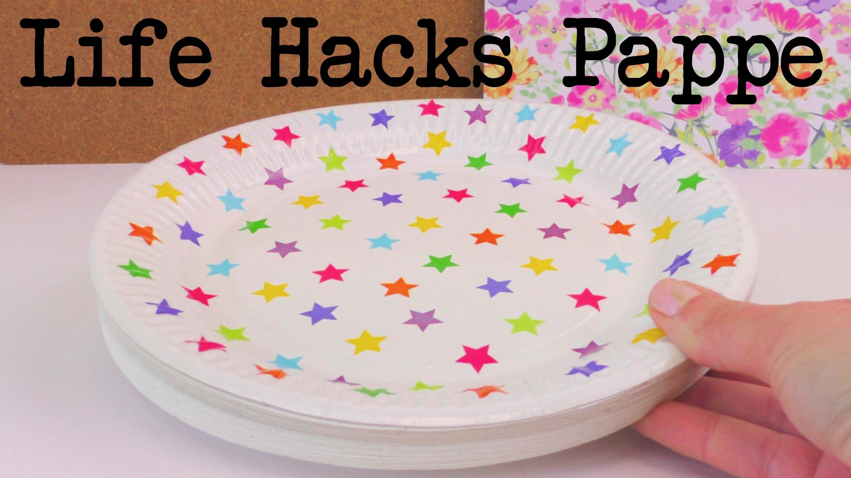 Life Hacks TOP 5: PAPPE Tipps und Tricks zum Nachbasteln und Selber Machen! Tutorial deutsch
