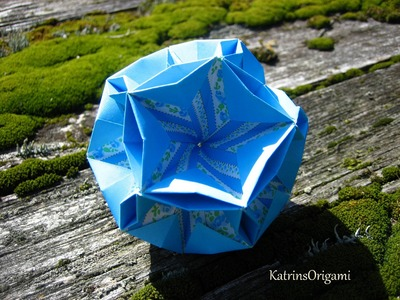 Origami ✺ Robusta ✺ Kusudama