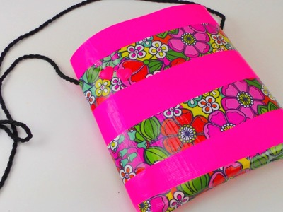 Panzertape Tasche. Duct Tape Bag DIY. Klebeband Tasche Anleitung How To | deutsch