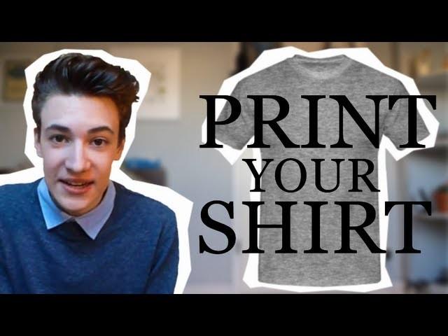 PRINT YOUR SHIRT - DIY