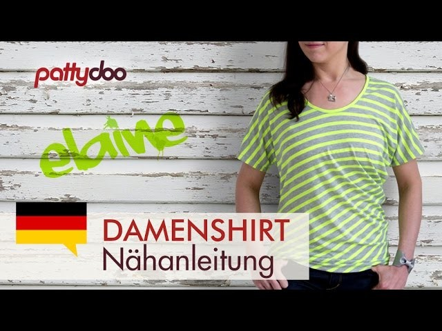 Shirt selber nähen - pattydoo Nähanleitung, auch für Anfänger!