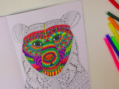 Speed Drawing #1. Kathi zeigt euch ihr Malbuch. Ausmalen. Coloring Book. Painting | deutsch