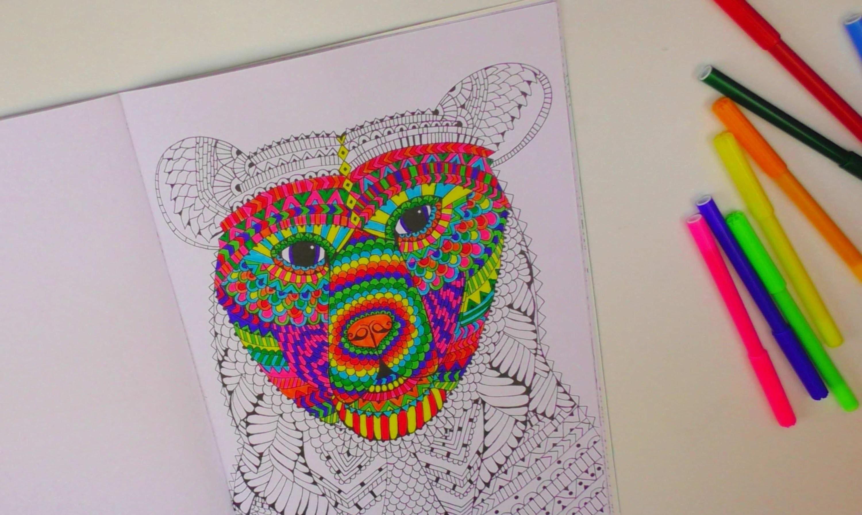 Speed Drawing #1. Kathi zeigt euch ihr Malbuch. Ausmalen. Coloring Book. Painting   deutsch