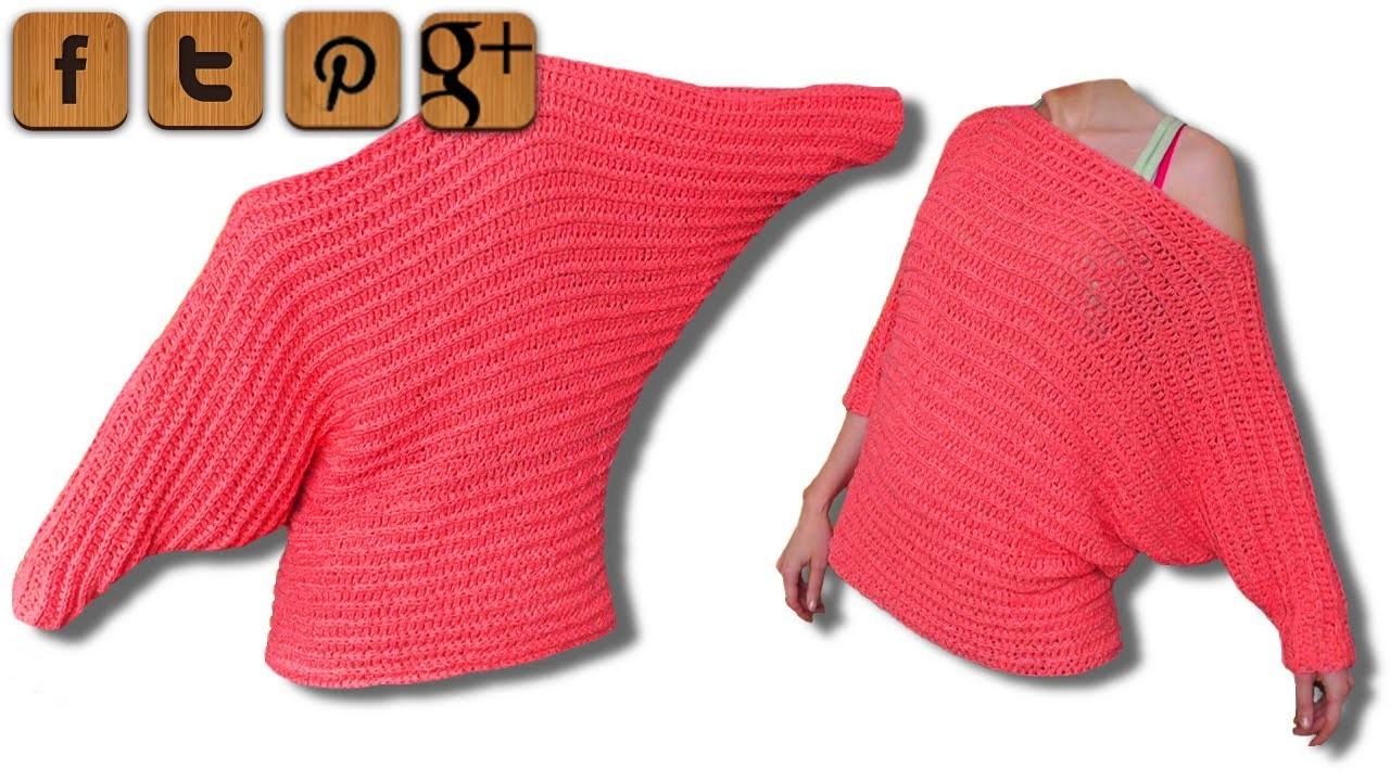 Valentine Pullover Häkelanleitung - © Woolpedia