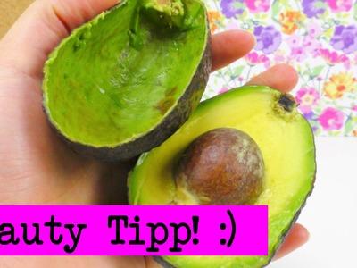 Beauty Tipp DIY Inspiration. Avocado Schale verwenden für ein echtes BEAUTY GEHEIMNIS!