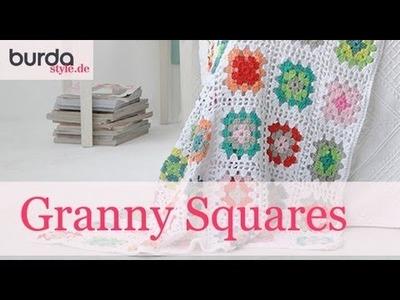 Burda style – Granny Square häkeln