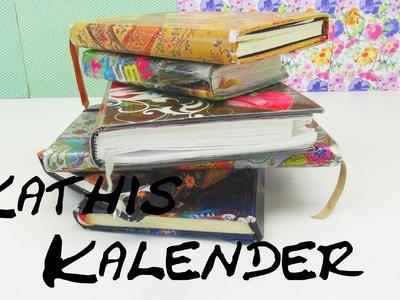 DIY Kalender Katharina Zeigt ihre Kalendersammlung HAUL Let's Show | deutsch