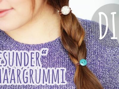 DIY schöner Haargummi für gesundes Haar