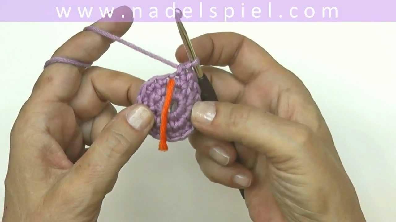Häkeln lernen mit eliZZZa #20 * Fadenring für Amigurumi * Häkeln in Runden * Spiralrunden
