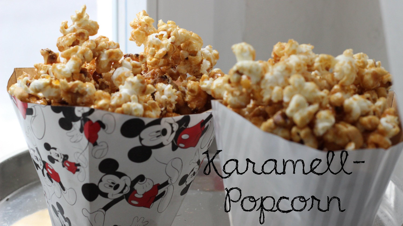Karamell-Popcorn und Popcorn-Tüten-DIY - Episode 12 -