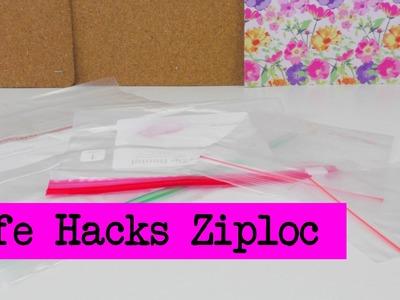 Lifehacks TOP 5: Frischhaltebeutel. Ziploc Bags. Tipps und Tricks für Beutel und Tüten Tutorial