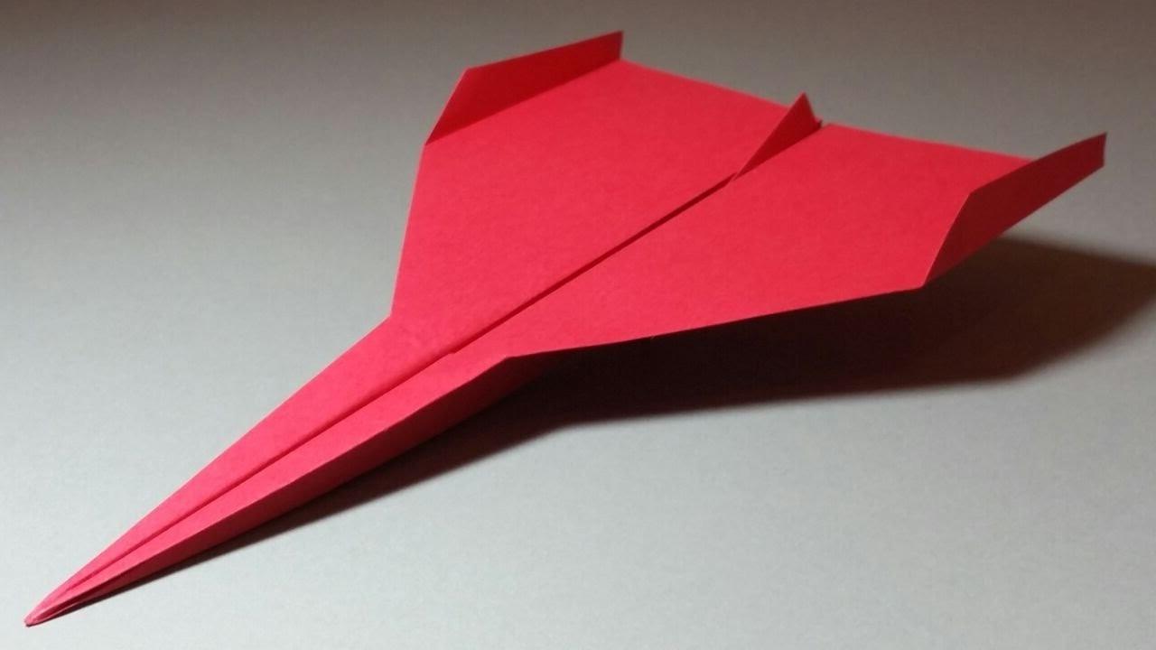 Papierflieger falten - Basteln mit Papier - Papierflugzeug bauen - Weltrekord | Limbus