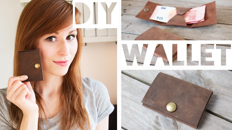 Quick DIY Mini Portemonnaie + Schnittmuster Download