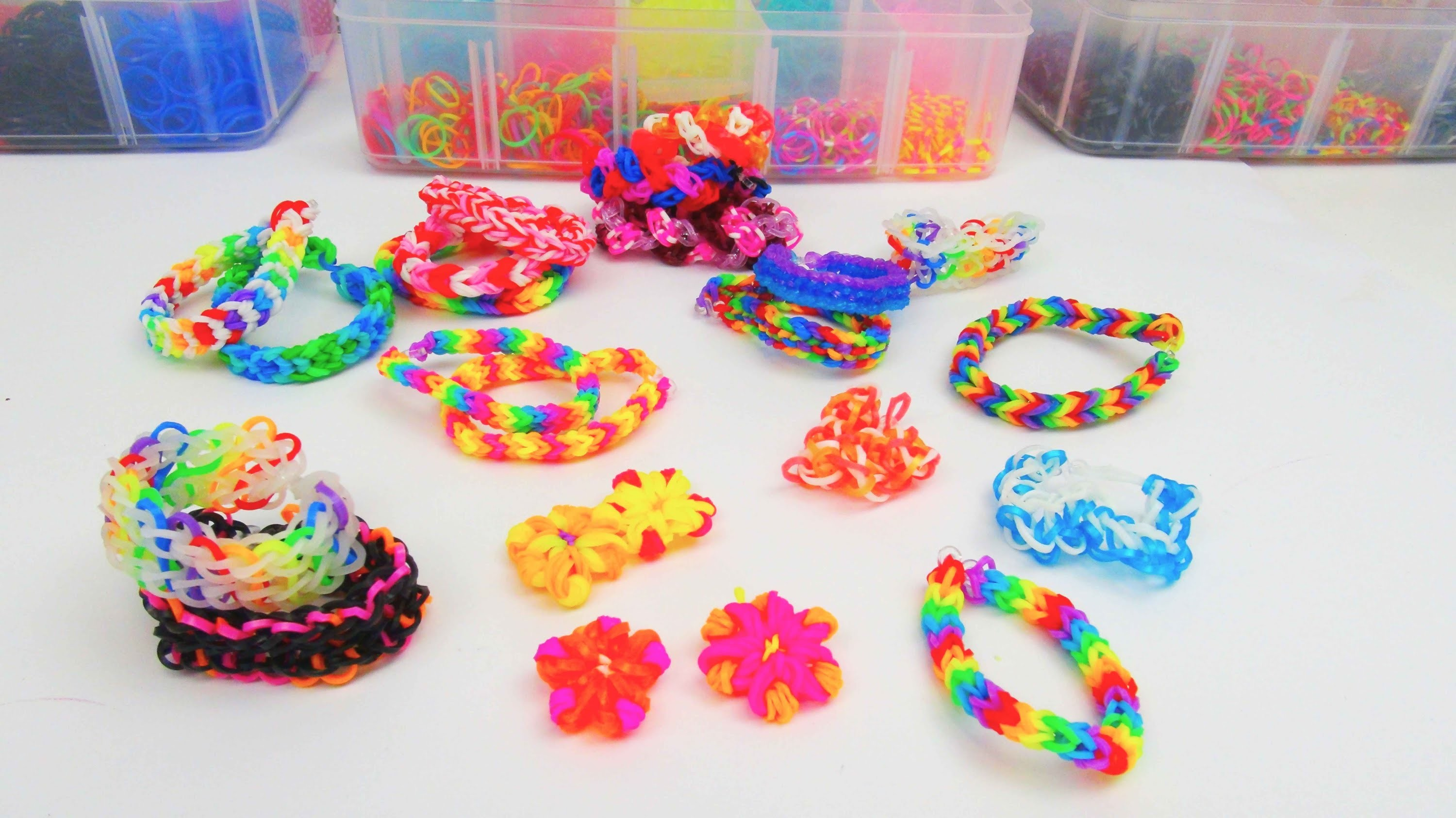 rainbow loom bands infovideo ganz einfache loom bands zum selber machen deutsch. Black Bedroom Furniture Sets. Home Design Ideas
